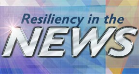 Resiliency in the News graphic